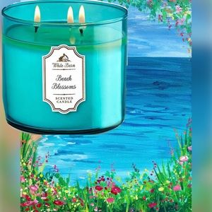 "NEW ""Beach Blossoms"" Candle"